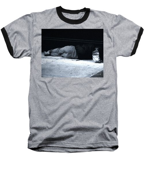 Baseball T-Shirt featuring the photograph The Sidewalks Of New York by RC deWinter