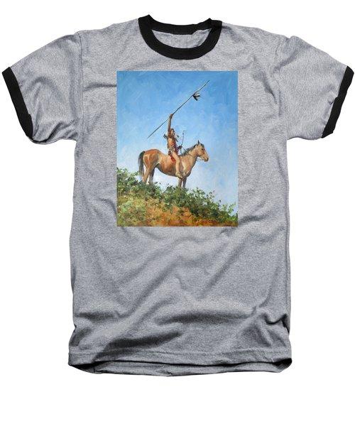 The Signal Baseball T-Shirt by Connie Schaertl