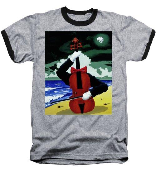 The Silent Soloist Baseball T-Shirt