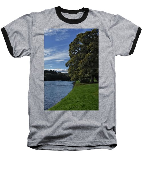 The Silvery Tay By Dunkeld Baseball T-Shirt