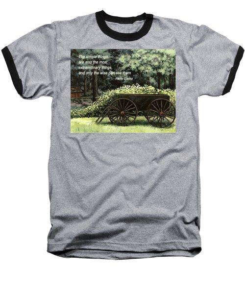 The Simple Things Baseball T-Shirt