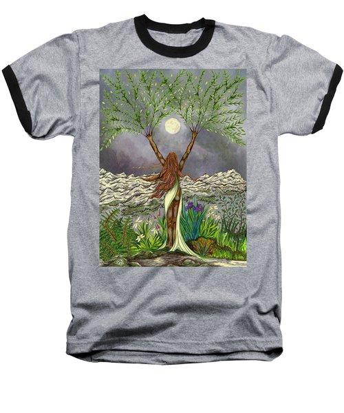 The Singing Girl Baseball T-Shirt