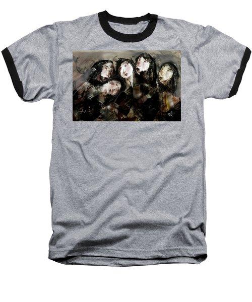 The Sisterhood Baseball T-Shirt by Jim Vance