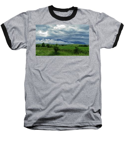 The Sky Has Fallen Baseball T-Shirt
