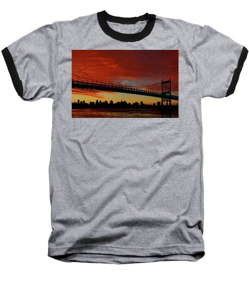 The Sky Is Burning Baseball T-Shirt