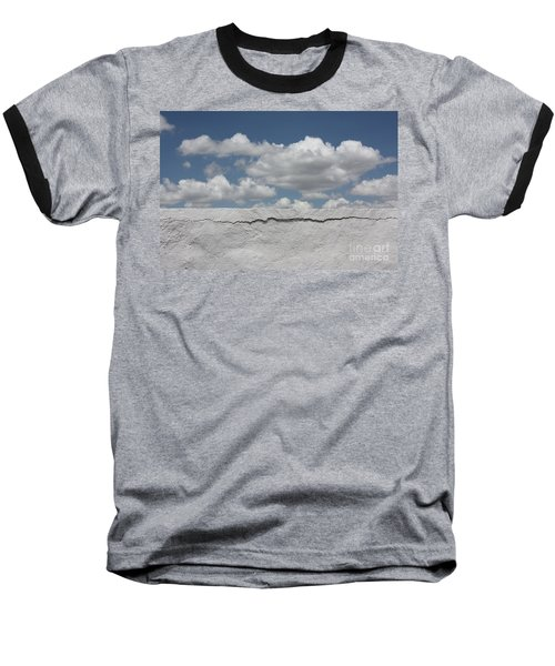 Baseball T-Shirt featuring the photograph The Sky Is Falling by Brian Boyle