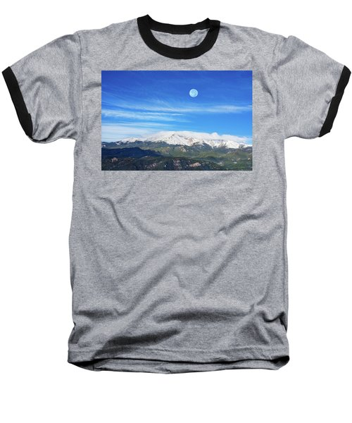 The Skyscraper That Towers Over My Hometown Reaches The Clouds At 14115 Feet Above Sea Level.  Baseball T-Shirt