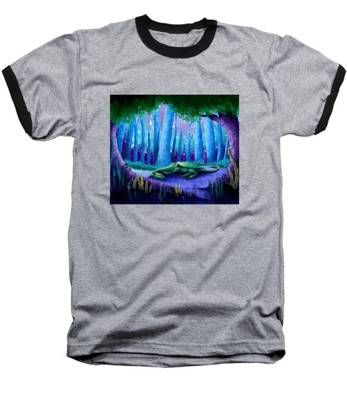 The Sleeping Dragon Baseball T-Shirt