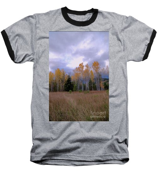 The  Song Of The Aspens 2 Baseball T-Shirt by Victor K