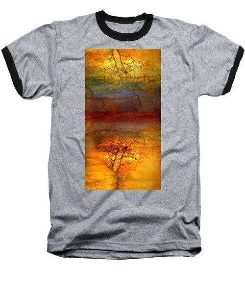 The Soul Dances Like A Tree In The Wind Baseball T-Shirt