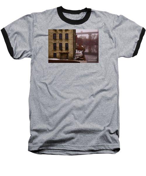 The South Bank Baseball T-Shirt by David Blank