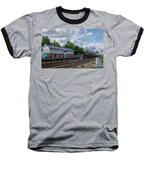 The Spa Express Departing Scarborough Baseball T-Shirt