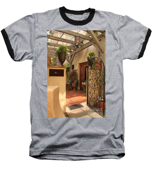 The Spa Baseball T-Shirt by James Eddy