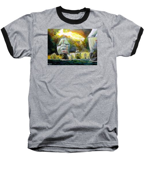The Spanish Armada Baseball T-Shirt