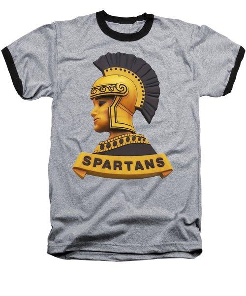 The Spartans Baseball T-Shirt by Mark Dodd