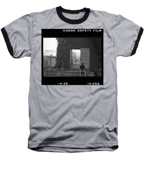 The Speech Annex And Peter Steven, Full Frame, 1980 Baseball T-Shirt