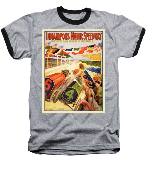 The Speedway Baseball T-Shirt by Gary Grayson