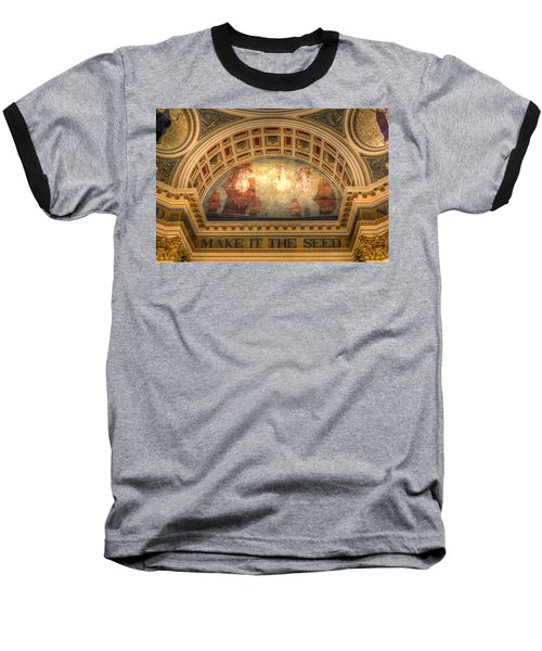 Baseball T-Shirt featuring the photograph The Spirit Of Religious Liberty by Shelley Neff