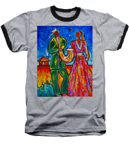 Baseball T-Shirt featuring the painting The Spirt Of Memphis by Emery Franklin