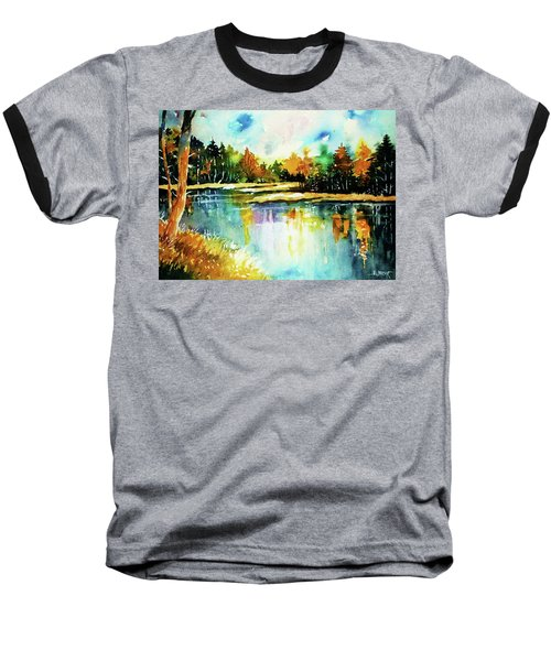 The Splendor And  Color Of Autumn Baseball T-Shirt