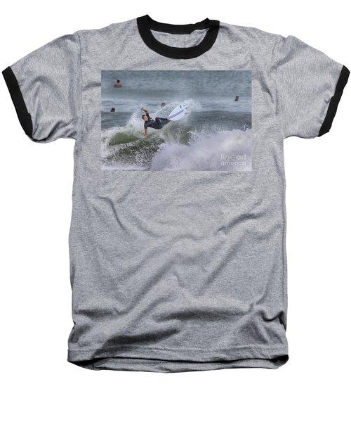 Baseball T-Shirt featuring the photograph The Spray by Deborah Benoit
