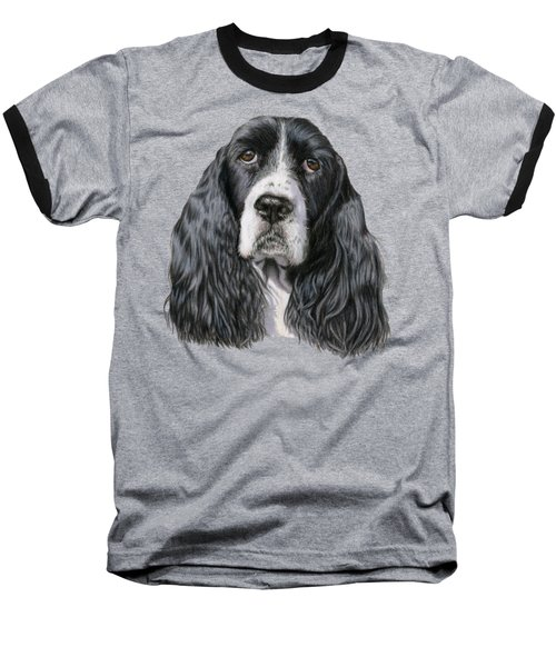 The Springer Spaniel Baseball T-Shirt