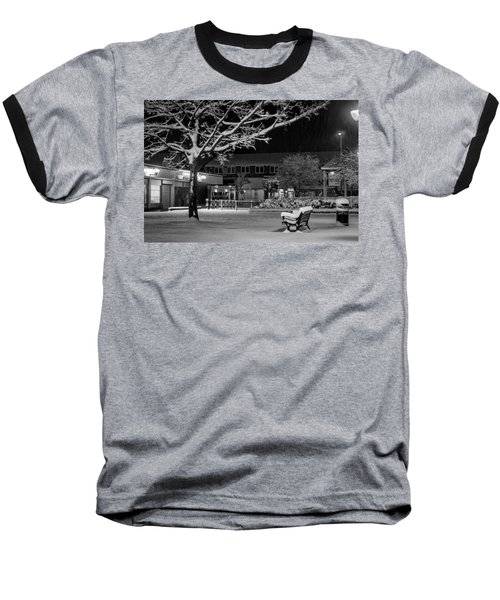 The Square In The Snow Baseball T-Shirt