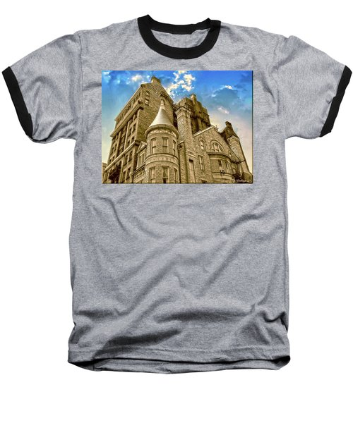 Baseball T-Shirt featuring the photograph The Stafford Hotel by Brian Wallace