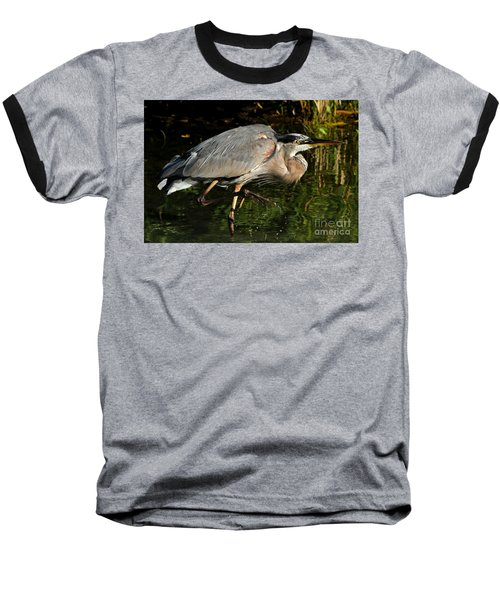 Baseball T-Shirt featuring the photograph The Stalker by Heather King