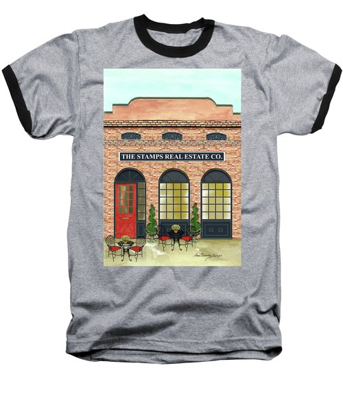 The Stamps Real Estate Co. Baseball T-Shirt