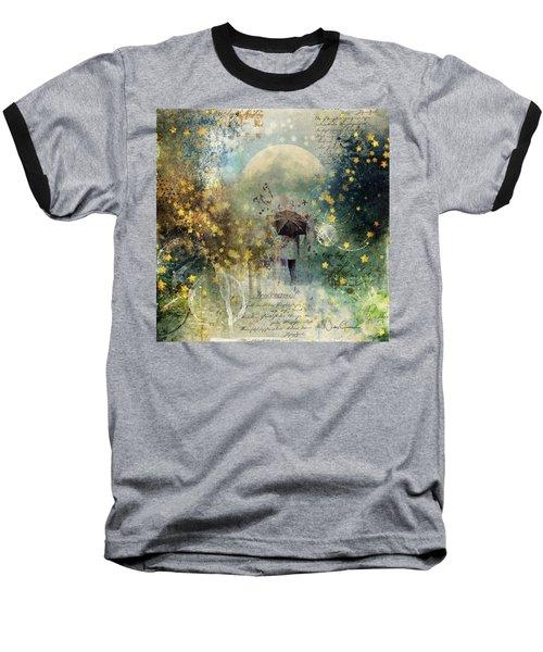 The Stars Fall Down Baseball T-Shirt