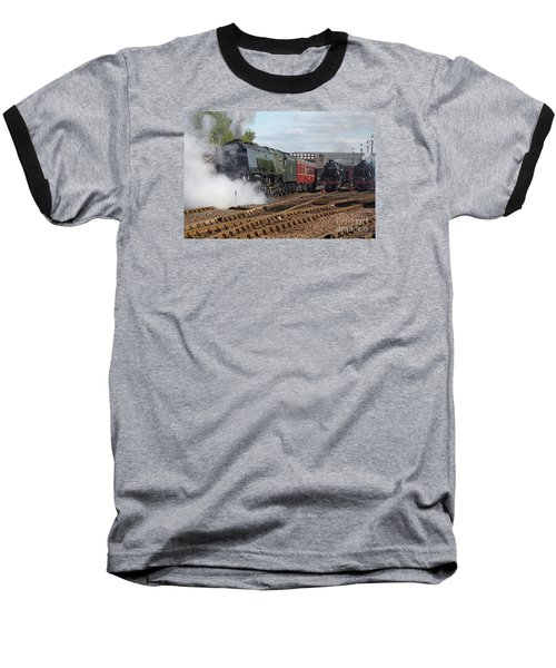 The Steam Railway Baseball T-Shirt