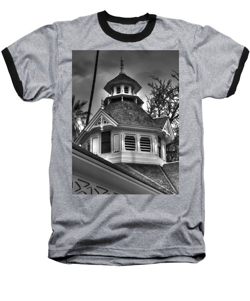The Steeple Baseball T-Shirt by Richard J Cassato