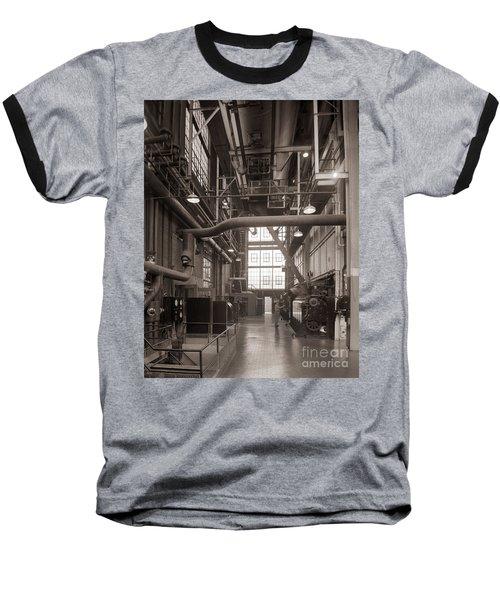 The Stegmaier Brewery Boiler Room Wilkes Barre Pennsylvania 1930's Baseball T-Shirt