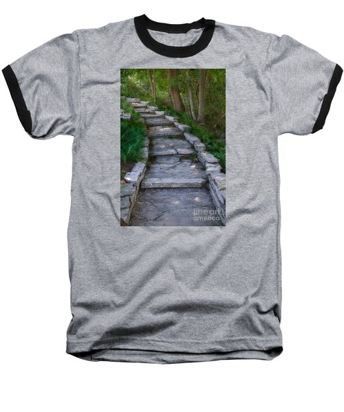 The Steps Baseball T-Shirt