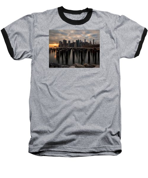 The Sticks Baseball T-Shirt by Anthony Fields