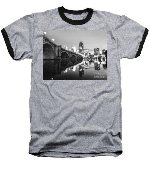 The Central Avenue Bridge Baseball T-Shirt