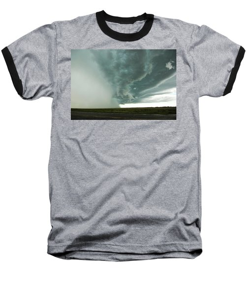 Baseball T-Shirt featuring the photograph The Stoneham Shelf by Ryan Crouse