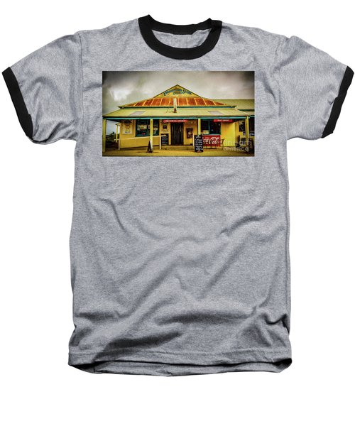 Baseball T-Shirt featuring the photograph The Store by Perry Webster