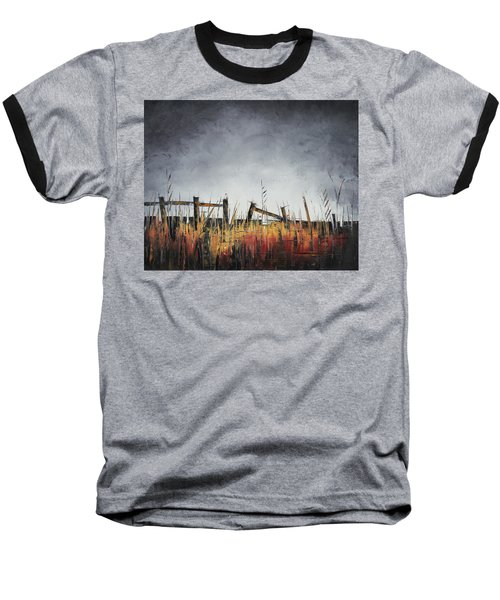 The Stories Were Left Untold Baseball T-Shirt by Carolyn Doe