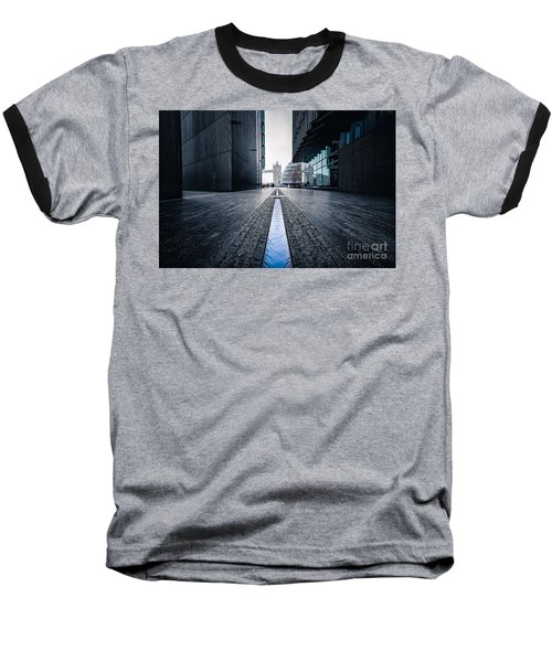 The Stream Of Time Baseball T-Shirt