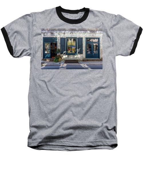 The Streets Of Charleston Baseball T-Shirt by Menachem Ganon