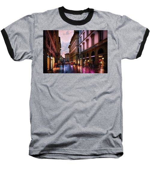 The Streets Of Florence Baseball T-Shirt