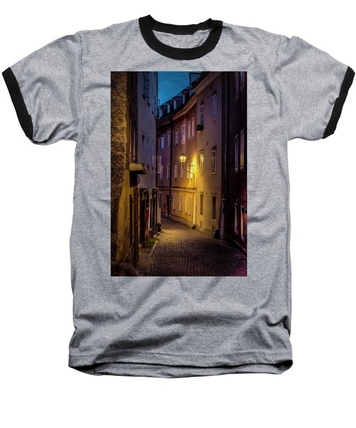 Baseball T-Shirt featuring the photograph The Streets Of Salzburg by David Morefield