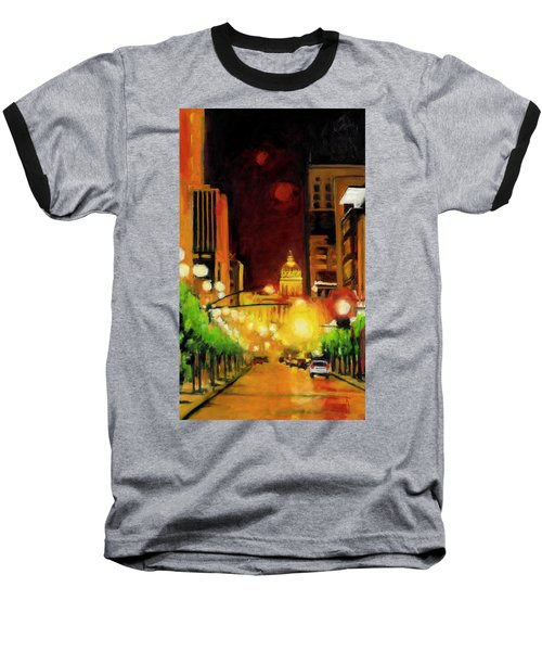 The Streets Run With Crimson And Gold Baseball T-Shirt
