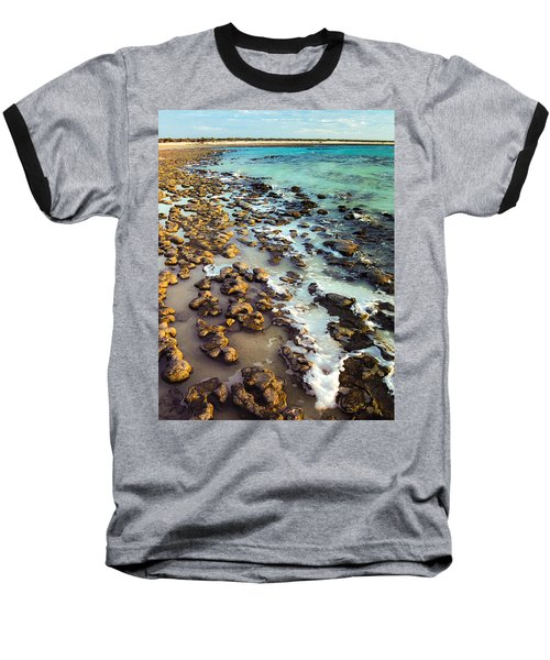 The Stromatolite Family Enjoying Its 1277500000000th Sunset Baseball T-Shirt