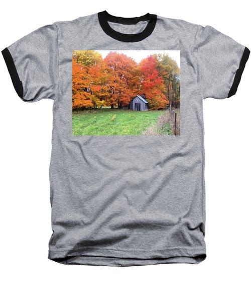 The Sugar Shack Baseball T-Shirt by Pat Purdy