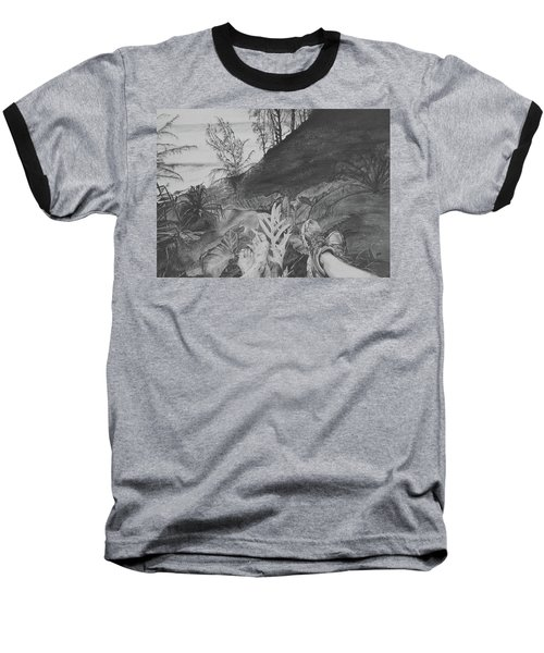 The Summit Baseball T-Shirt by Jane Autry