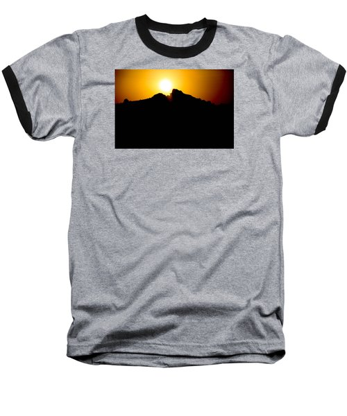 Baseball T-Shirt featuring the photograph The Sun Feeds Me by Jez C Self