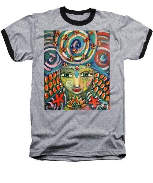 The Sun Goddess  Baseball T-Shirt